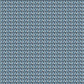 Knit in Sky Blue