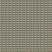 Knit in Sky/Gold