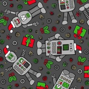 Merry Robots (Dark)