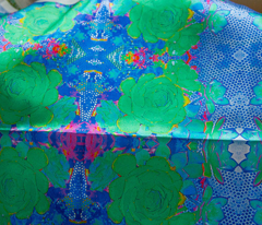 Cactus in Blues #2a Kaleidoscope