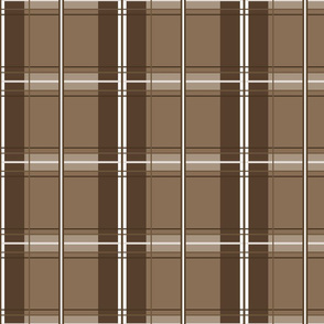 Rosemary Tartan in brown sugar