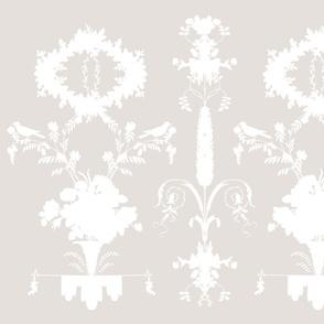 Rococo Garden in Belgian Linen