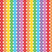 rainbow buttons