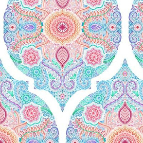 Ink and Symmetry in Rainbow Hues - Vertical