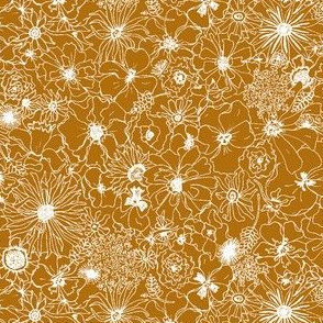 Kraft Paper Flowers