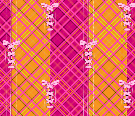 Laced - Double Plaid