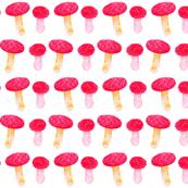 The Magic Scarlet Mushrooms