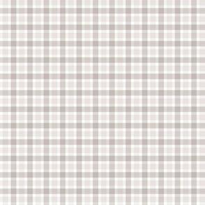 Warm Grey Check