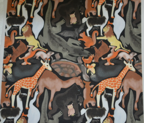 Animal Jigsaw, Natural Colors