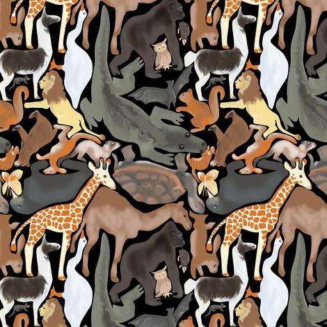Animal Jigsaw, Natural Colors