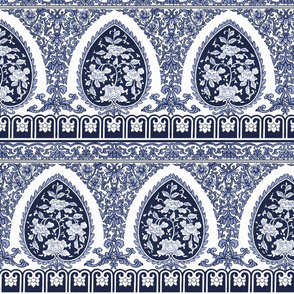 Summer Motif ~ Blue and White