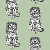 Patterned Lion