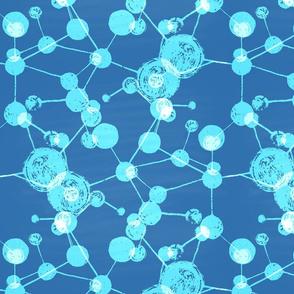 Blue molecular chaos.