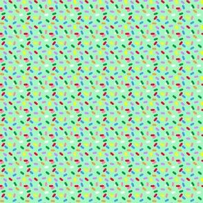 Cupcake Sprinkles mint