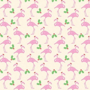 Festive Flamingos Small