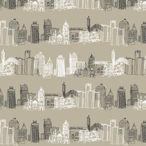 Detroit Landmarks I