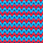 Patriotic Butterfly Chevron