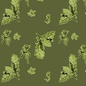 oak in green color