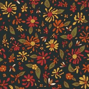Autumn Bees
