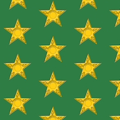 Sheriff Star on Green