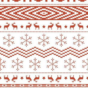 Ugly Christmas Sweater - White (Large Scale)