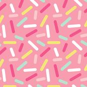 Donut Pink Sprinkles