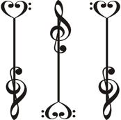 3 Music Arrows
