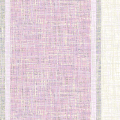 lilac-mauve barkcloth stripes