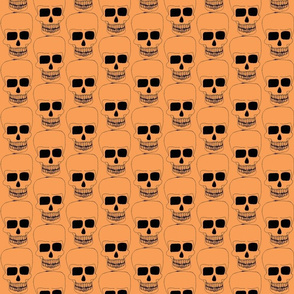 small halloween skulls