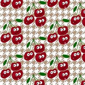 "cherries say ""hi-ho!"""