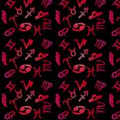 Hot Pink Zodiac
