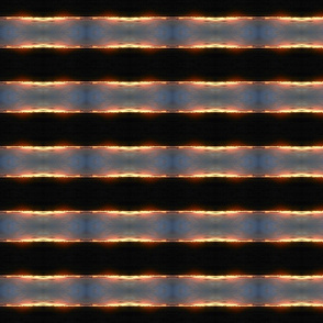 A Blazing Summer Skyline - Horizontal Stripe (Ref. 3546b)