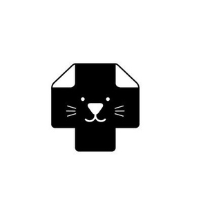 Plus Sign Cat