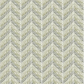 Crayon Chevron Purple Olive Colorway