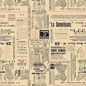 Vintage Corset Ads Antique