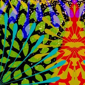 fireworks floral