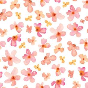 Cute Hand Painted Flowers