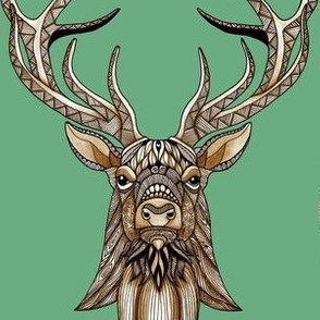 Spring Stag