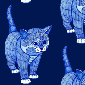 Kitty-Blue