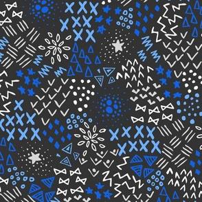 Blue Textura