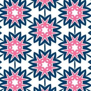 Suzannah Blue & pink