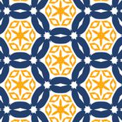 Interflora Blue Yellow
