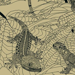 Luverly_Lizards_monochrome_sand