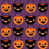 Halloween Candy Buckets