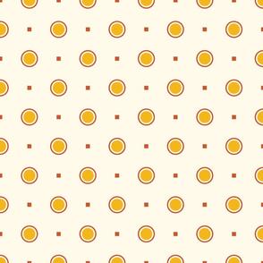 Farmhouse Dots on Cream