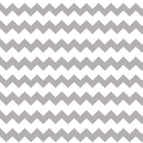 Grey Gray Chevron Zigzag Pattern