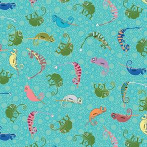 Ditsy Chameleons