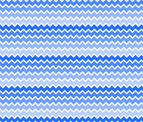 Blue ombre chevron pattern - photo#10
