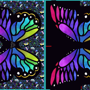 rainbow_Watercolor_butterfly