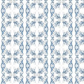 Sweet-peas & Buttercups (Blue)